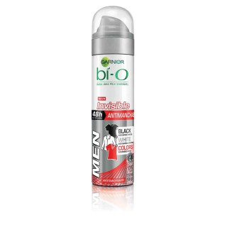 Desodorante Bí-O aerosol men Invisible Black&White colors 150ml