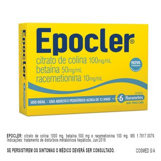 Epocler com 6 flaconetes 10ml