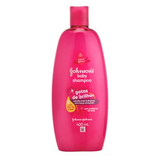 Shampoo Johnson & Johnson Baby Gotas de Brilho 400ml