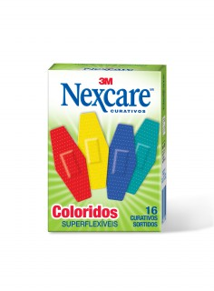Curativo Nexcare Superflex color com 16 unidades