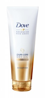 Shampoo Dove Pure Care dry oil 200ml