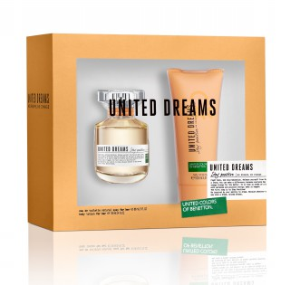 Kit Perfume Benetton Stay 80ml Grátis Body lotion 100ml
