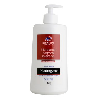 Hidratante Neutrogena Norwegian sem fragrância 500ml