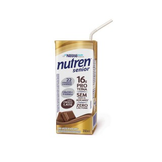 Suplemento Alimentar NUTREN SENIOR Chocolate 200ml