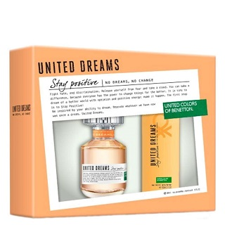 Kit Perfume Benetton Stay 80ml Grátis Desodorante 150ml