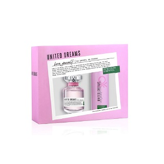 Kit Perfume Benetton Love 80ml Grátis Desodorante 150ml