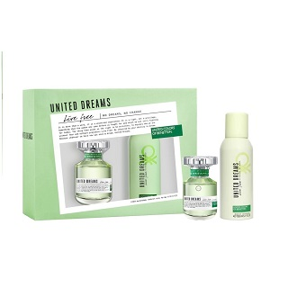 Kit Perfume Benetton Live 80ml Grátis Desodorante 150ml
