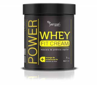Creme de tratamento Yenzah Power Whey fit cream 1kg