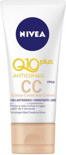 Creme Nivea Q10 Plus Antissinais CC cream 3 em 1 50ml