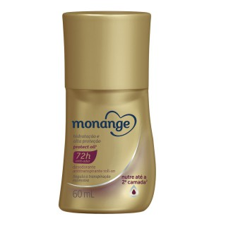 Desodorante Monange Roll on Hidratação Protect oil 60ml