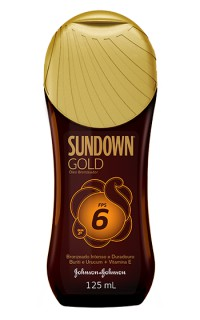 Bronzeador Sundown FPS-6 gold óleo 125ml