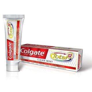 Creme Dental Colgate Total 12 Clean Mint 90g