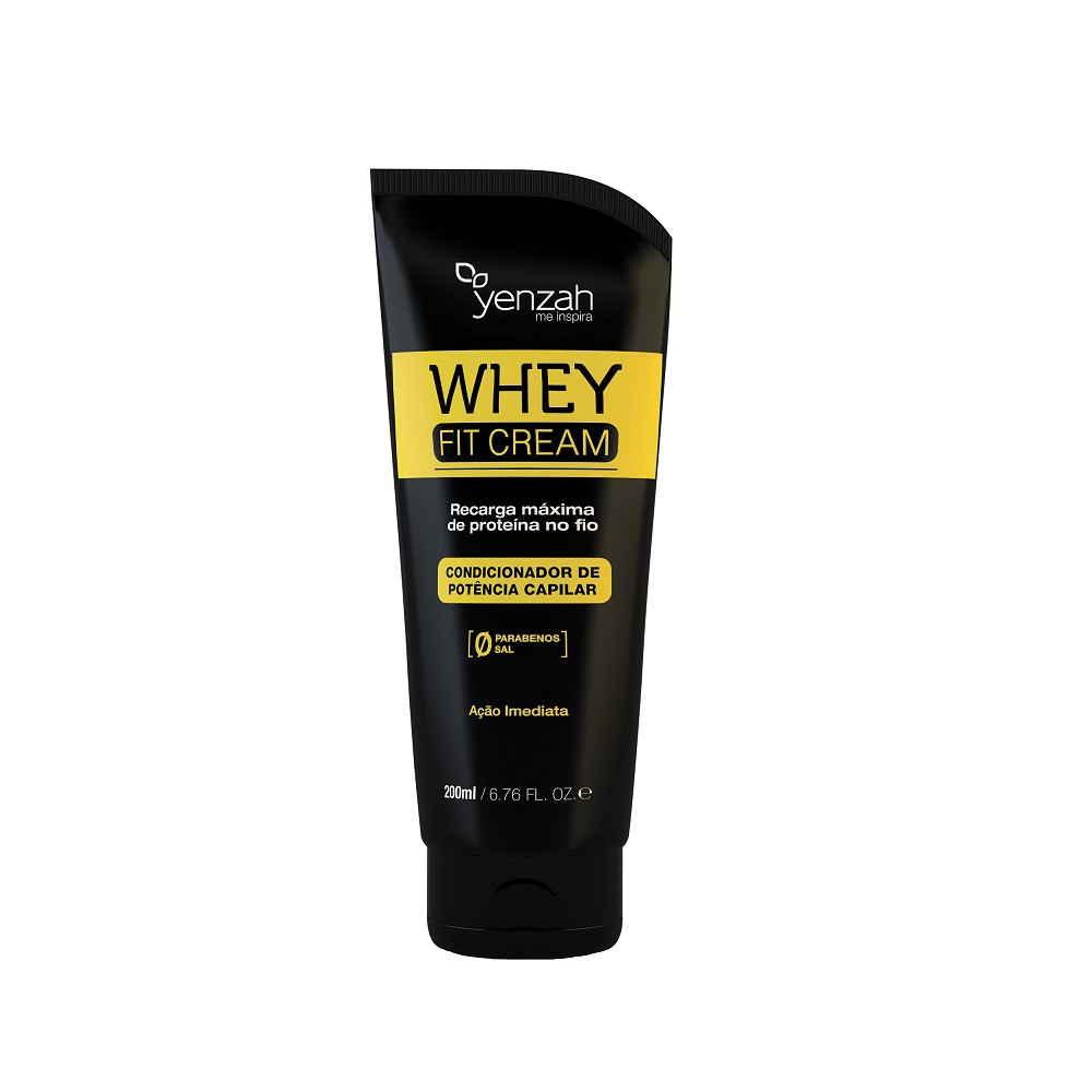 Condicionador Yenzah Power Whey fit cream 200ml