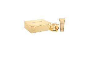 Kit Perfume Paco Rabanne Lady Million 50ml + body lotion 100ml