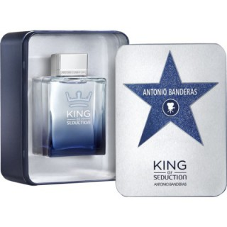 Kit Perfume Antonio Banderas King of Seduct 200ml Grátis lata