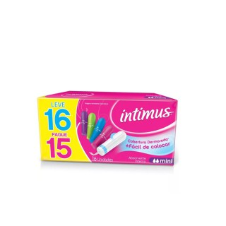 Absorvente Intimus Interno Mini Leve 16 Pague 15