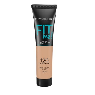 Maybelline fit me base líquida cor 120