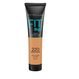Maybelline fit me base líquida cor 220