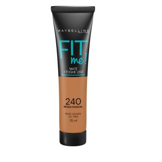 Maybelline fit me base líquida cor 240