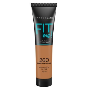 Maybelline fit me base líquida cor 260