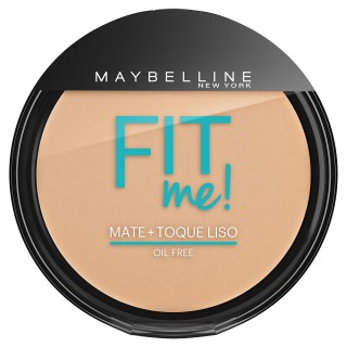 Maybelline fit me pó compacto cor 110 claro real