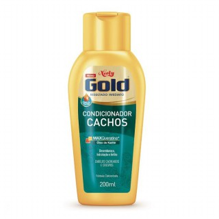 Condicionador Niely Gold Cachos 200ml