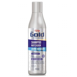 Shampoo Niely Gold Matizador Louro absoluto 300ml