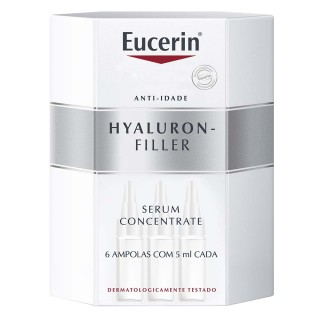 Eucerin Hyaluron-Filler concentrate 6 ampolas com 15ml