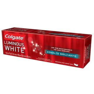 Creme Dental Branqueador Colgate Luminous White Gel 70g