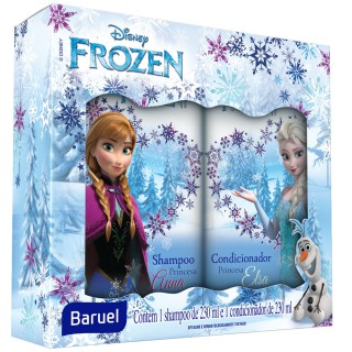Kit Shampoo + Condicionador Baruel Frozen Princesa 230ml