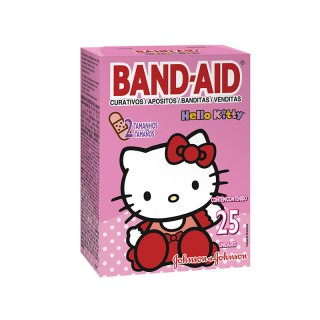 Curativo Band-Aid Hello Kitty 25 unidades