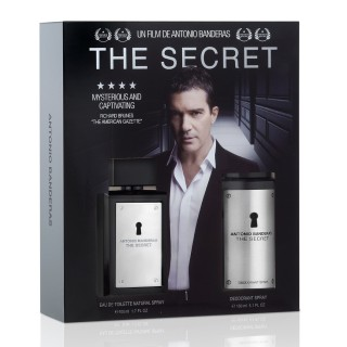 Kit Perfume Antonio Banderas The Secret 100ml Grátis Deo 150ml