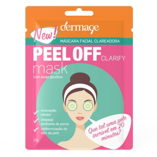 Máscara Dermage Clarify peel off 10g