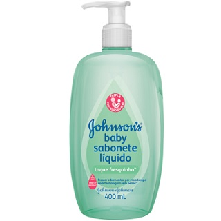 Sabonete Johnson & Johnson baby Toque fresquinho 400ml