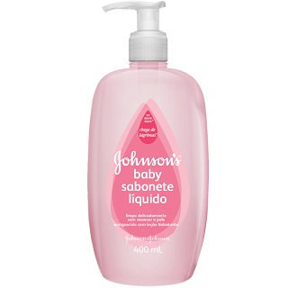 Sabonete Johnson & Johnson Baby Pink 400ml