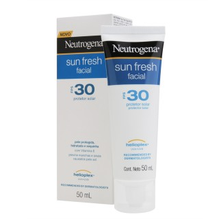 Bloqueador Solar Neutrogena FPS-30 Sun Fresh Facial 50ml