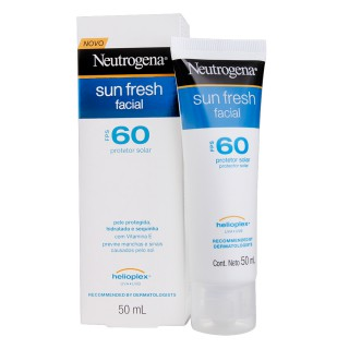 Bloqueador Solar Neutrogena FPS-60 Sun Fresh Facial 50ml