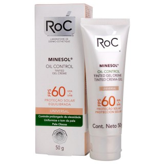 Minesol Oil Control FPS-60 Tinted 50g