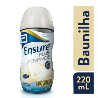 Suplemento  Adulto Ensure Plus Advance Sabor Baunilha 220ml