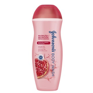 Sabonete Johnson & Johnson Romã e uva 400ml