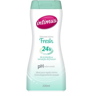 Sabonete Íntimus 24h fresh 200ml