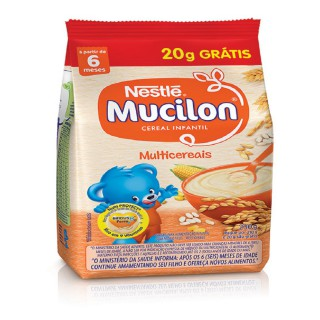 Mucilon Multicereais Leve 230g e Pague 200g