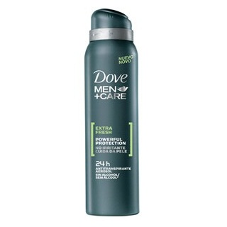 Desodorante Dove aerosol men antitranspirante extra fresh 89g
