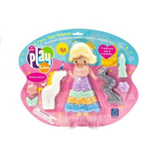 Massinha Crayola Playfoam Princesa com 8 unidades