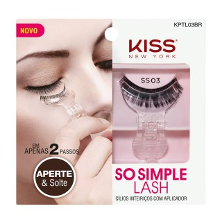 Cílios Kiss So simple lash 03