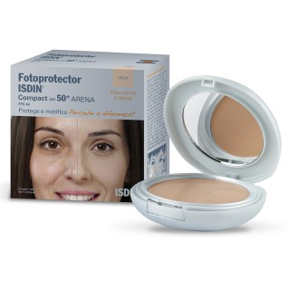 Isdin Fotoprotetor FPS-50 compact areia 10g