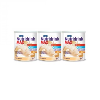 Kit Nutridrink Max Cappuccino 350g leve 3 pague 2