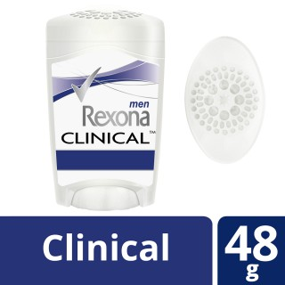 Desodorante Rexona creme clinical men 48g