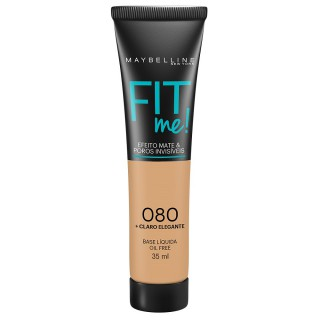 Maybelline fit me base líquida cor 080