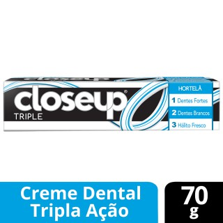 Creme dental Close-Up Triple Hortelã 70g